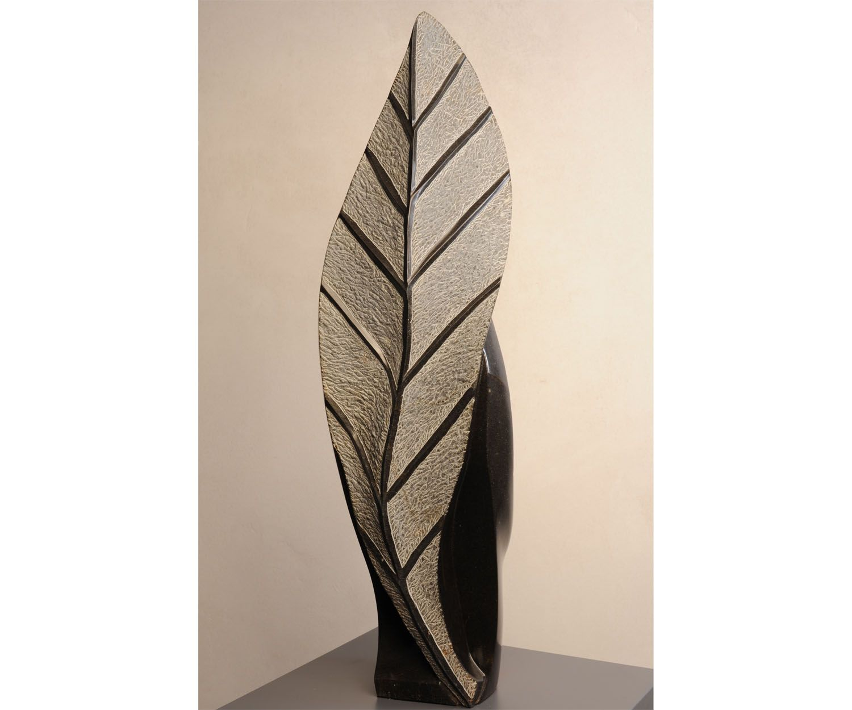 Banana Leaf back, 77 X 14 cm. Amos Supuni