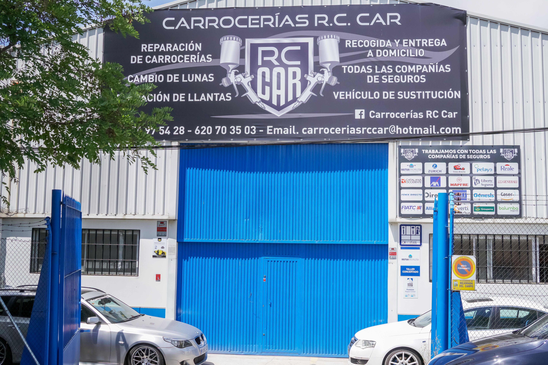 Entrada principal CARROCERÍAS RC CAR