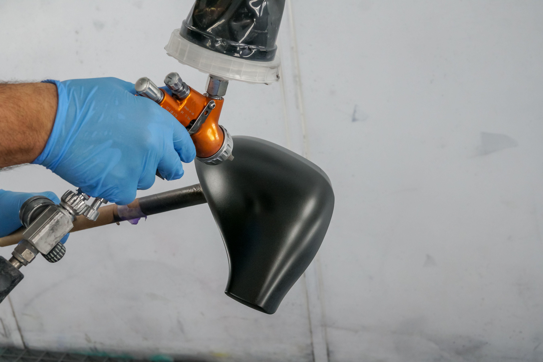Pistola de pintura de vehículos