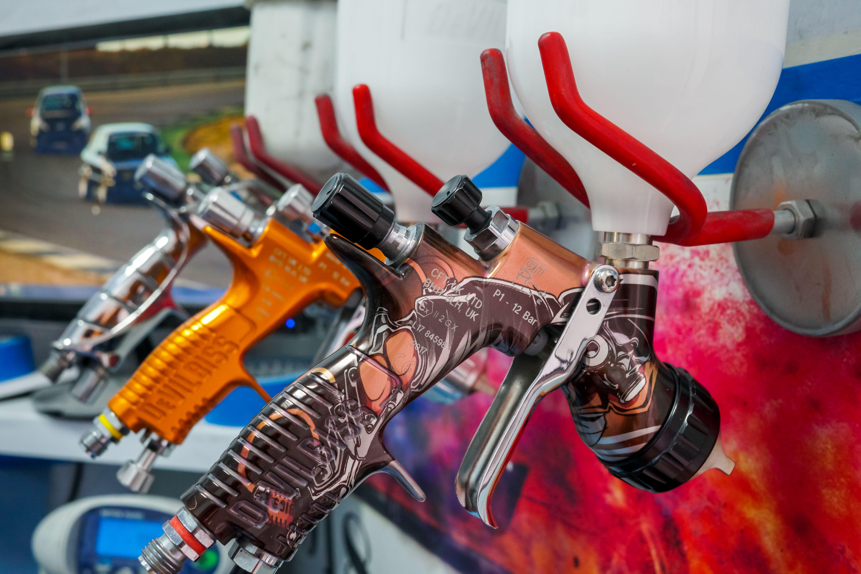Pistolas de pintura de CARROCERÍAS RC CAR
