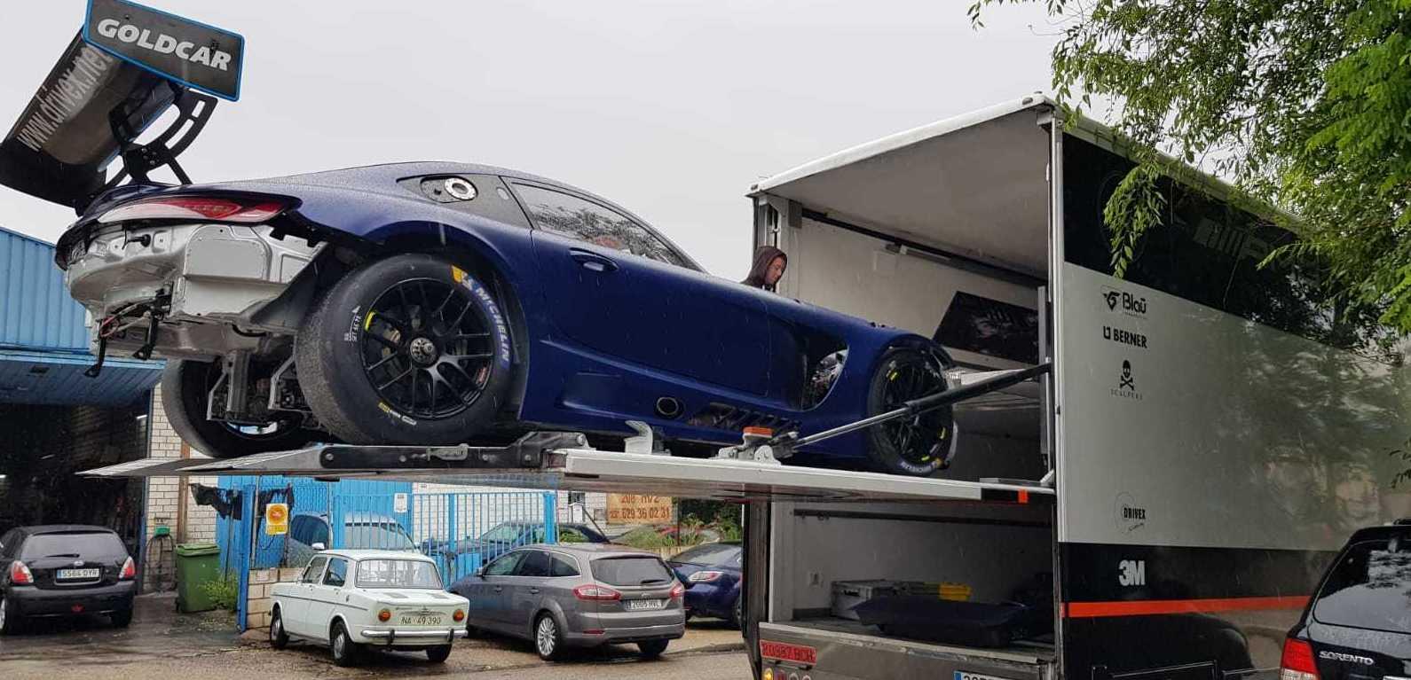 Mercedes AMG competicion de DRIVEX