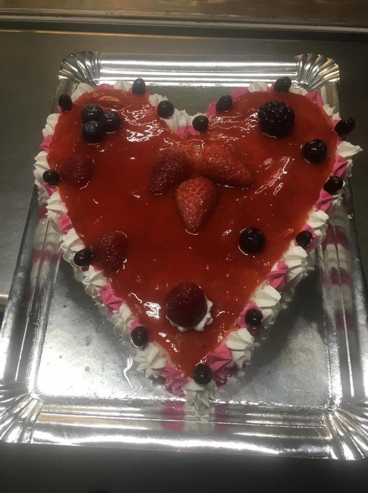 Tartas de corazón personalizadas