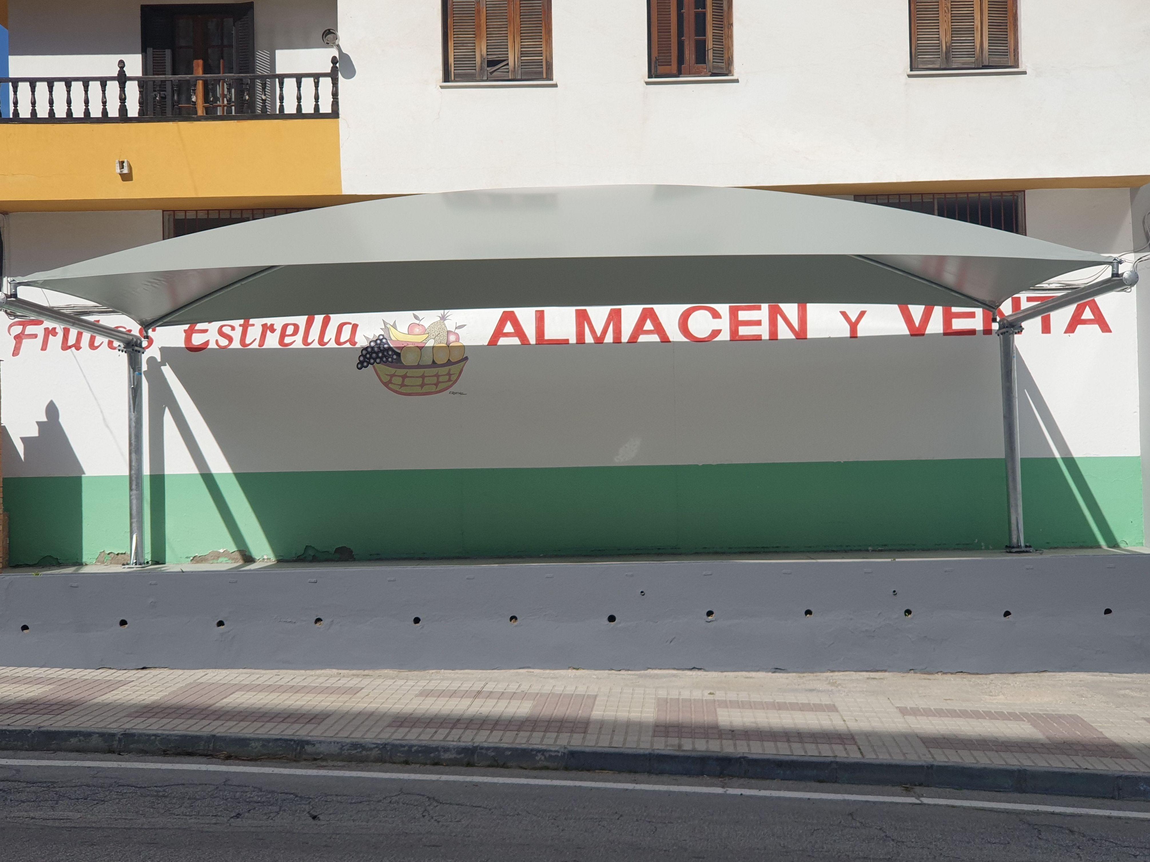 Carpas estructurales en Sevilla