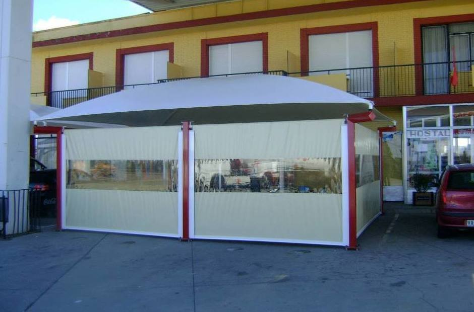 Carpas para restaurantes: Servicios de Suministros Hispapress