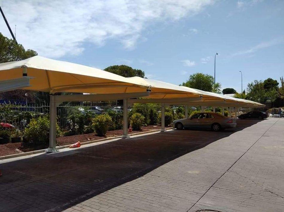 Marquesinas aparcamiento en Córdoba