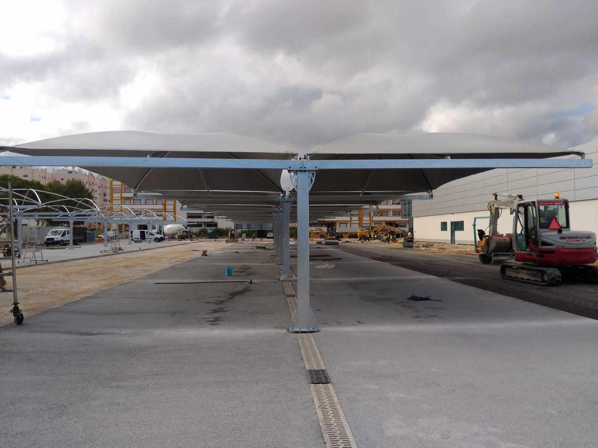 Marquesinas aparcamiento en Málaga