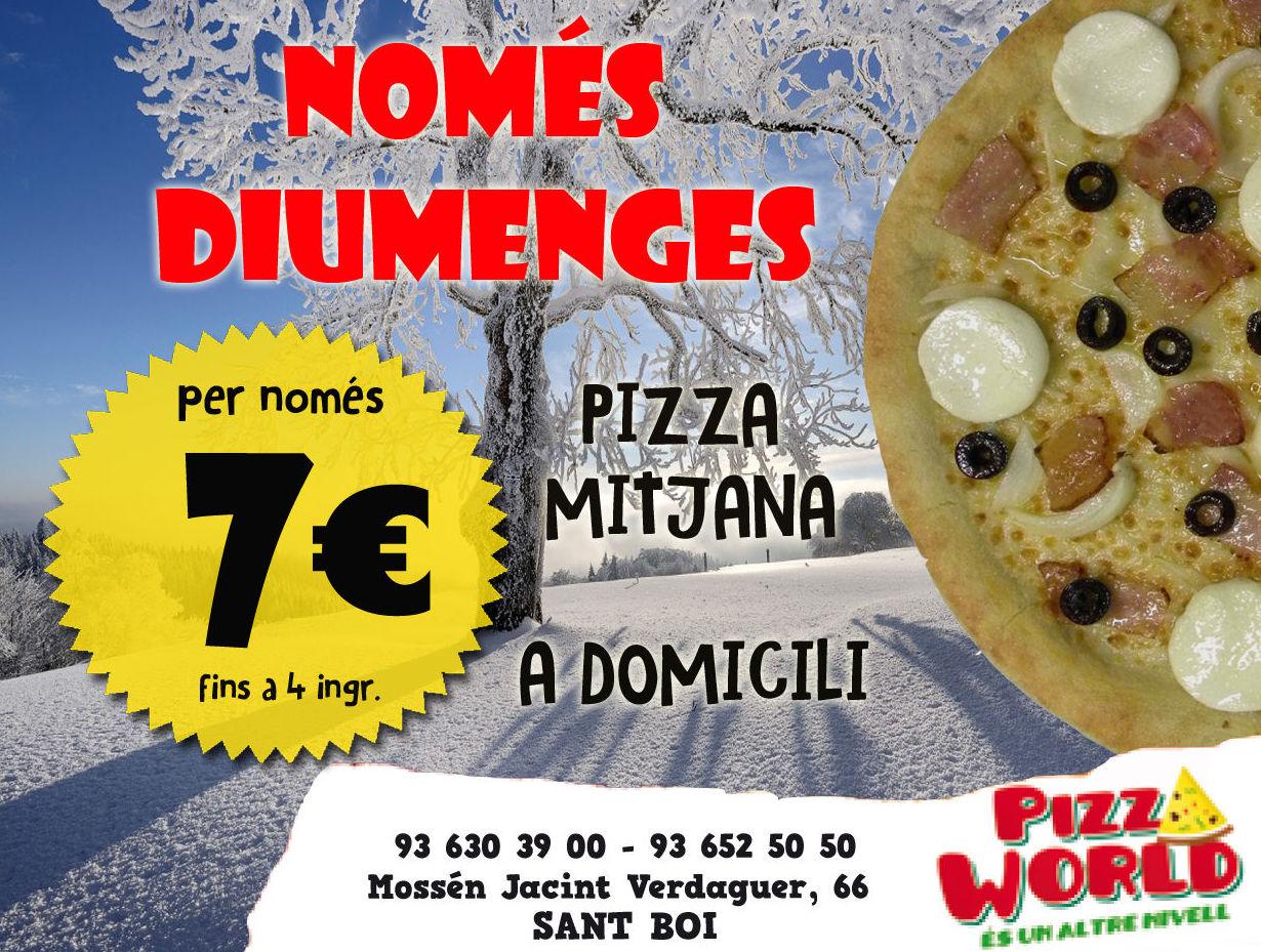 Foto 5 de Restaurante en Sant Boi de Llobregat | Pizza World