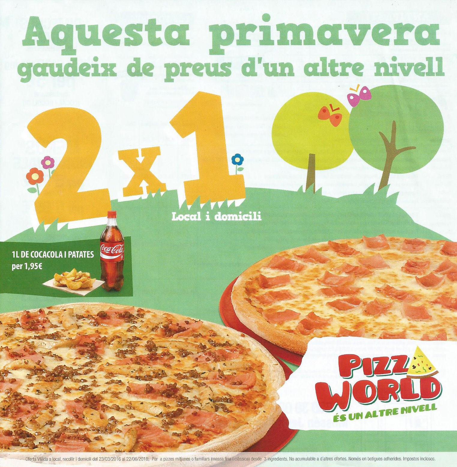 Foto 6 de Restaurante en Sant Boi de Llobregat | Pizza World