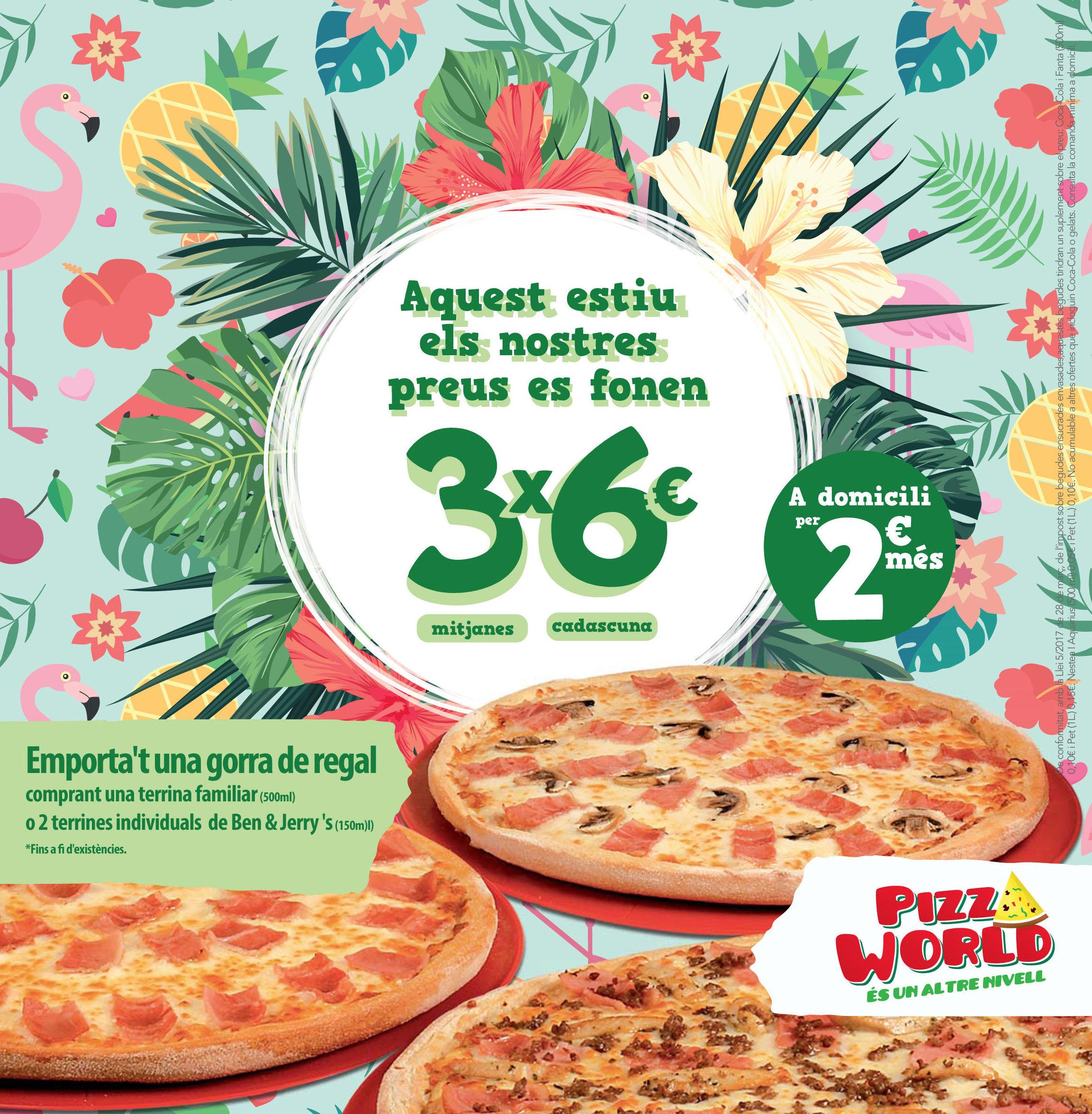 Foto 2 de Restaurante en Sant Boi de Llobregat | Pizza World