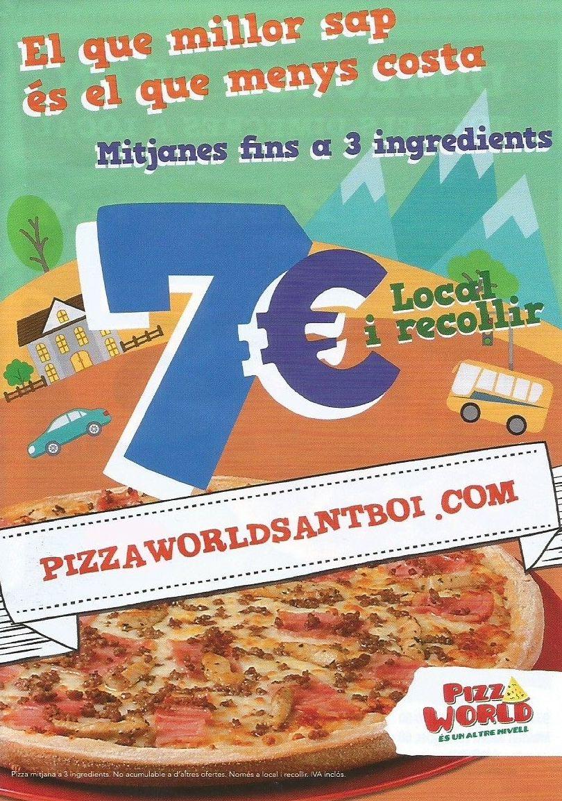 Foto 3 de Restaurante en Sant Boi de Llobregat | Pizza World