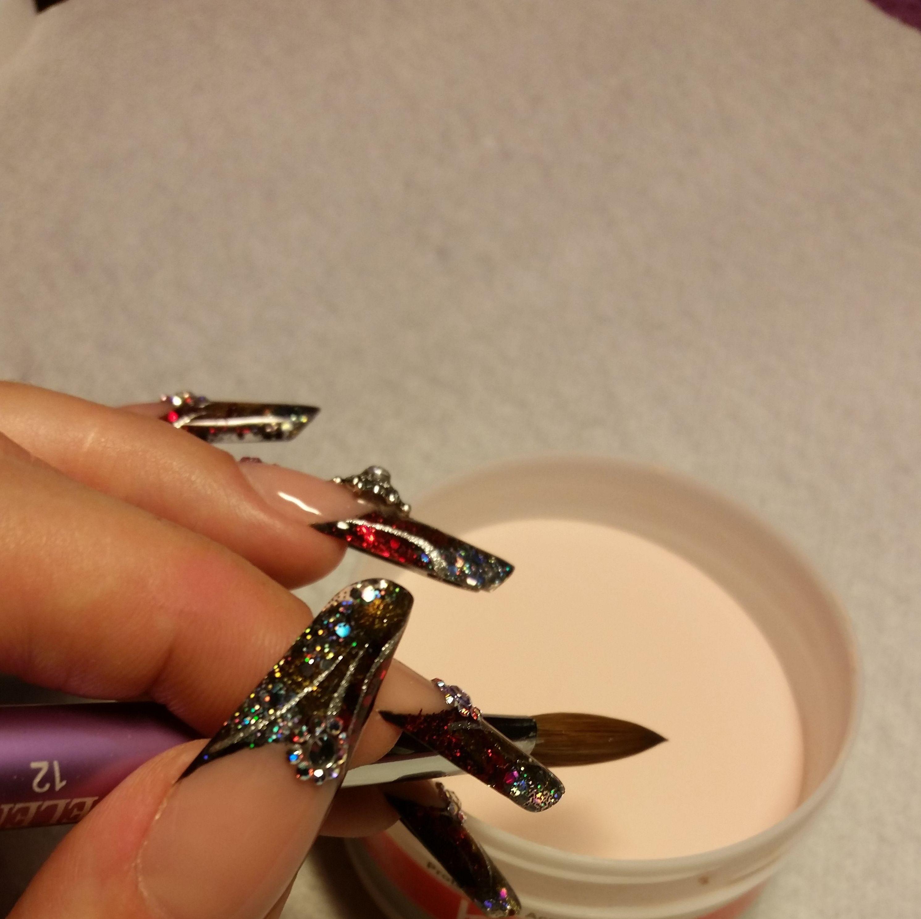 uñas de fantasia Natali nail art studio leganes