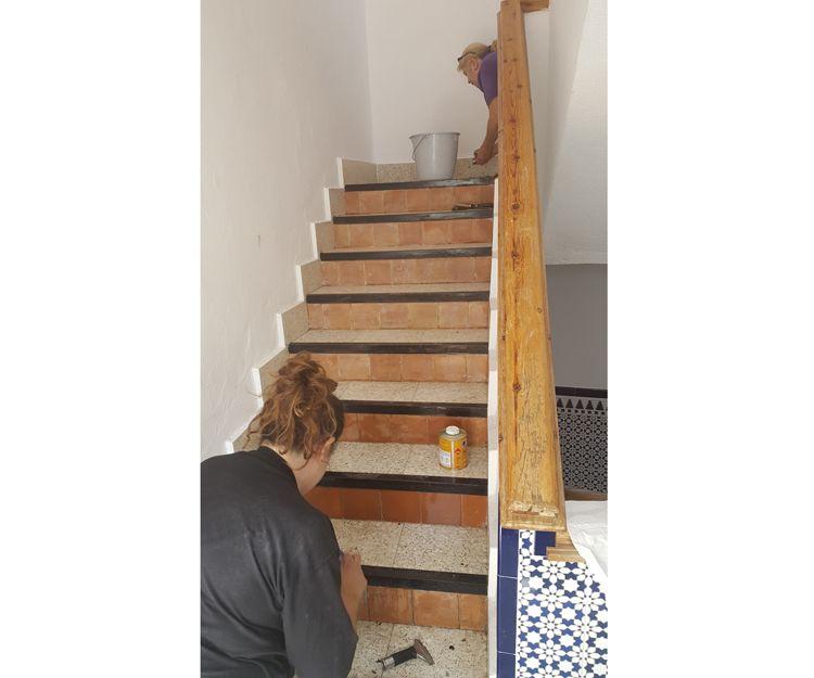 Reforma y limpieza de escaleras