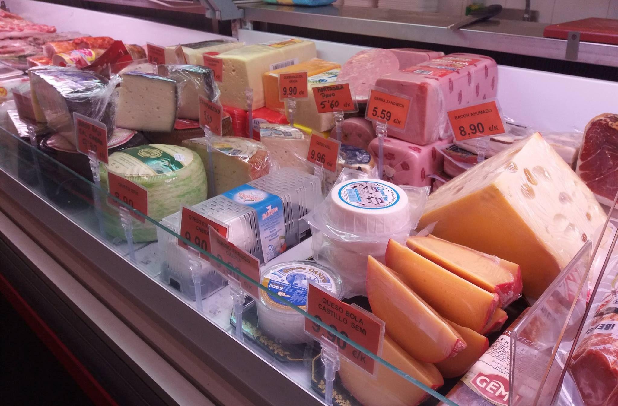 Quesos: Productos de Casa Rafa Carnicería Charcutería