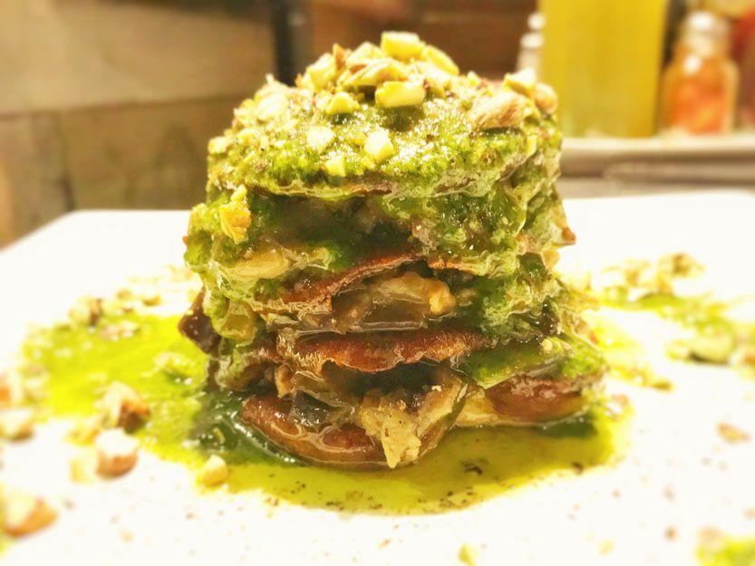 Falsa lasaña en nuestro restaurante argentino en Málaga
