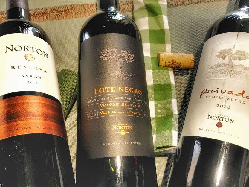 Vino Norton en nuestro restaurante argentino en Málaga