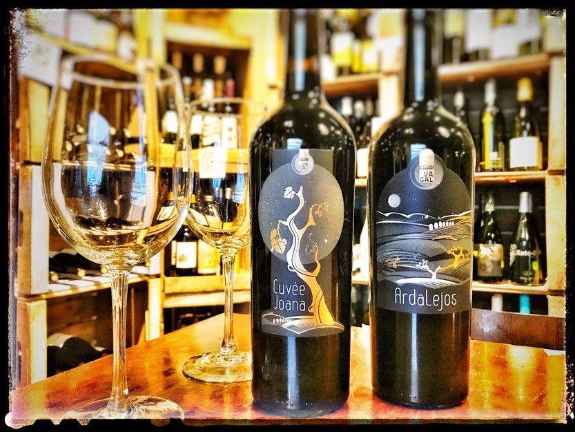 Vino Tinto Cuvée Joana en nuestro restaurante argentino en Málaga