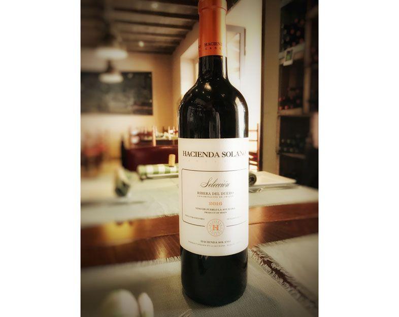Vino Hacienda Solana en nuestro restaurante argentino en Málaga