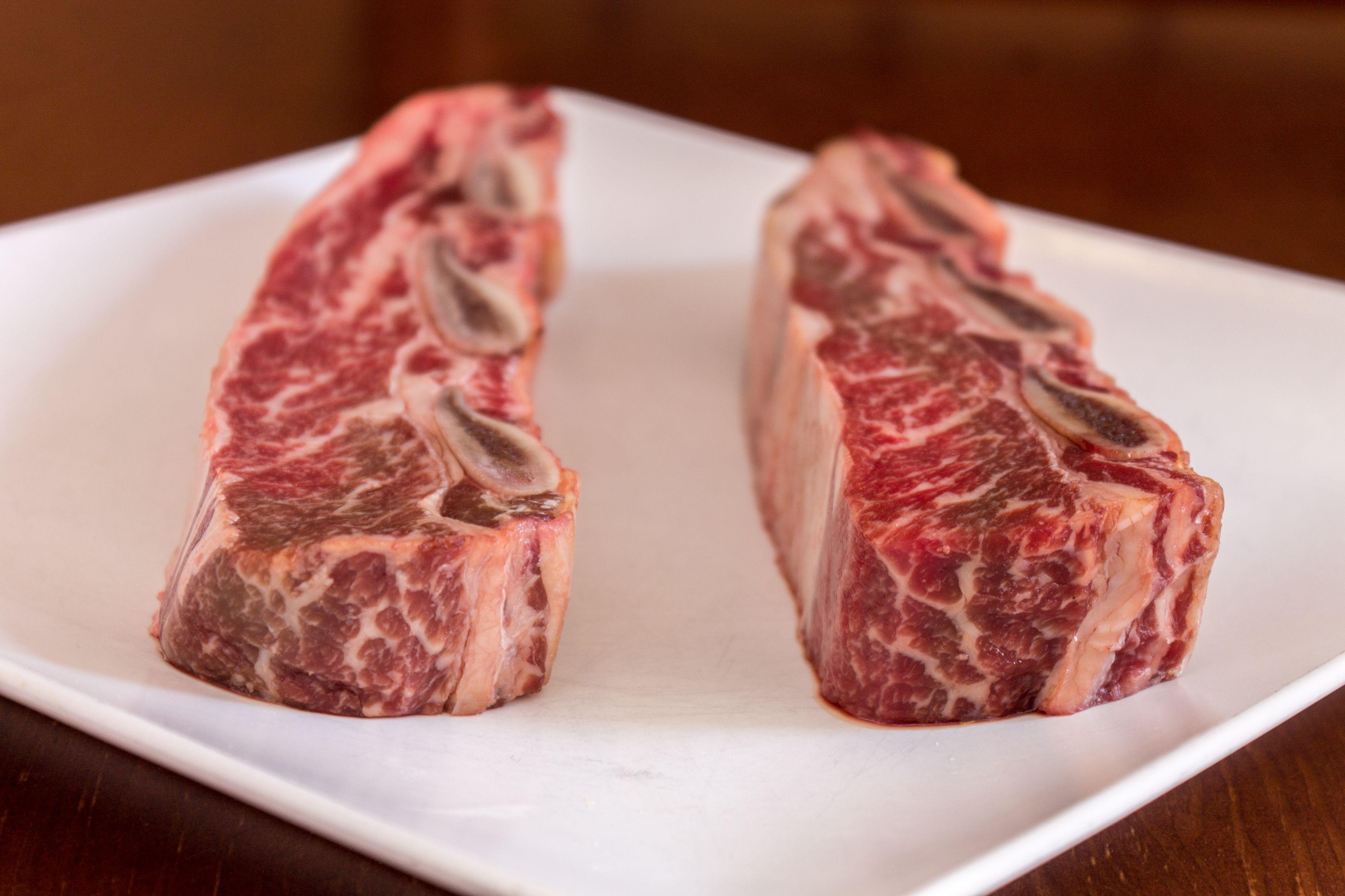 Pieza de carne roja