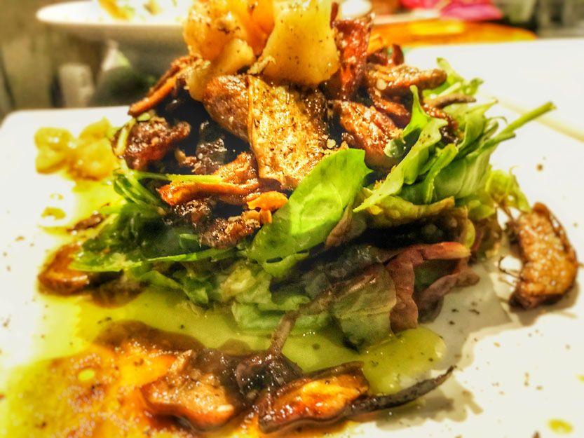 Ensalada aestivum en nuestro restaurante argentino en Málaga