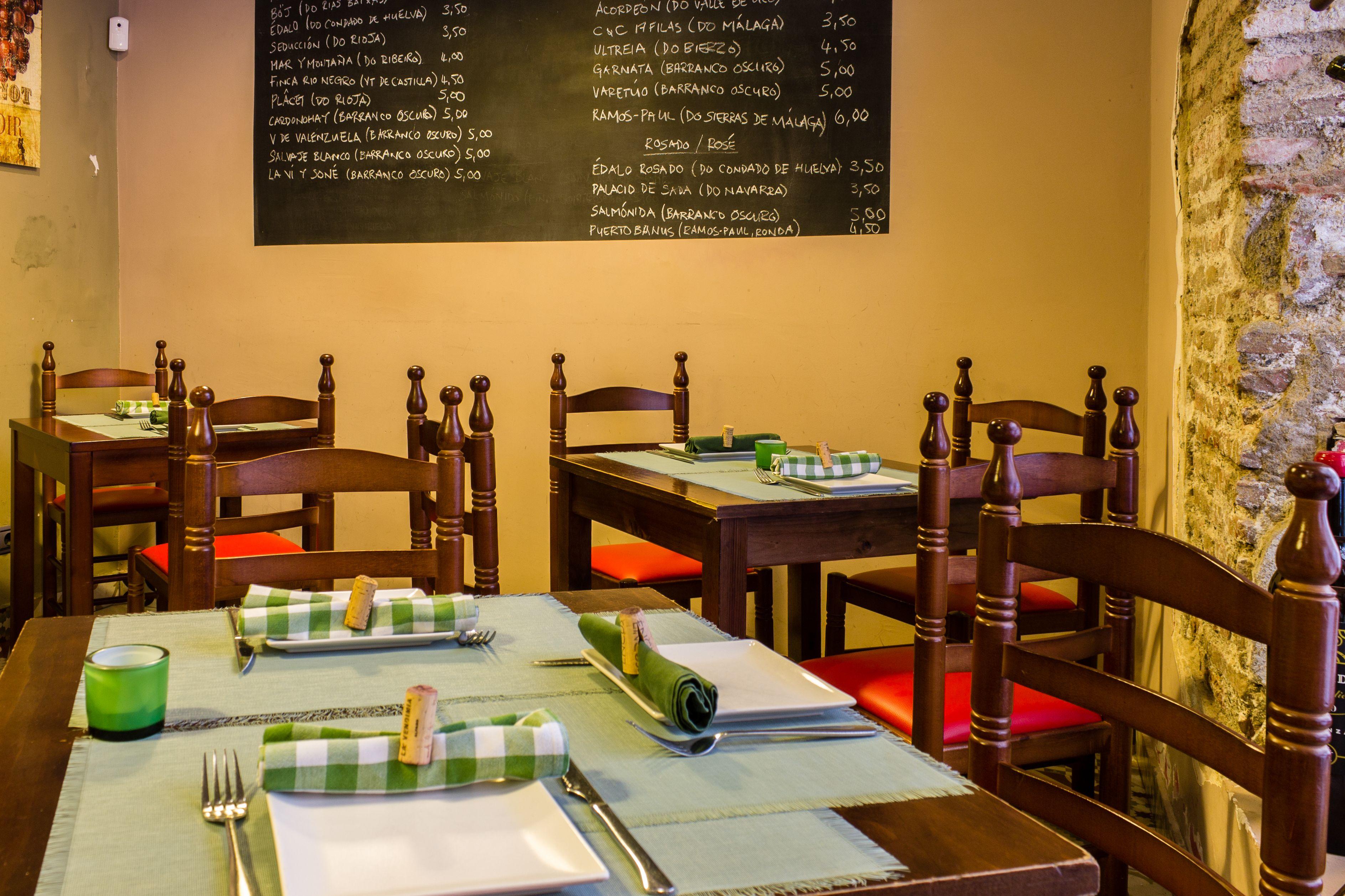 Zona comedor del Restaurante Ocho