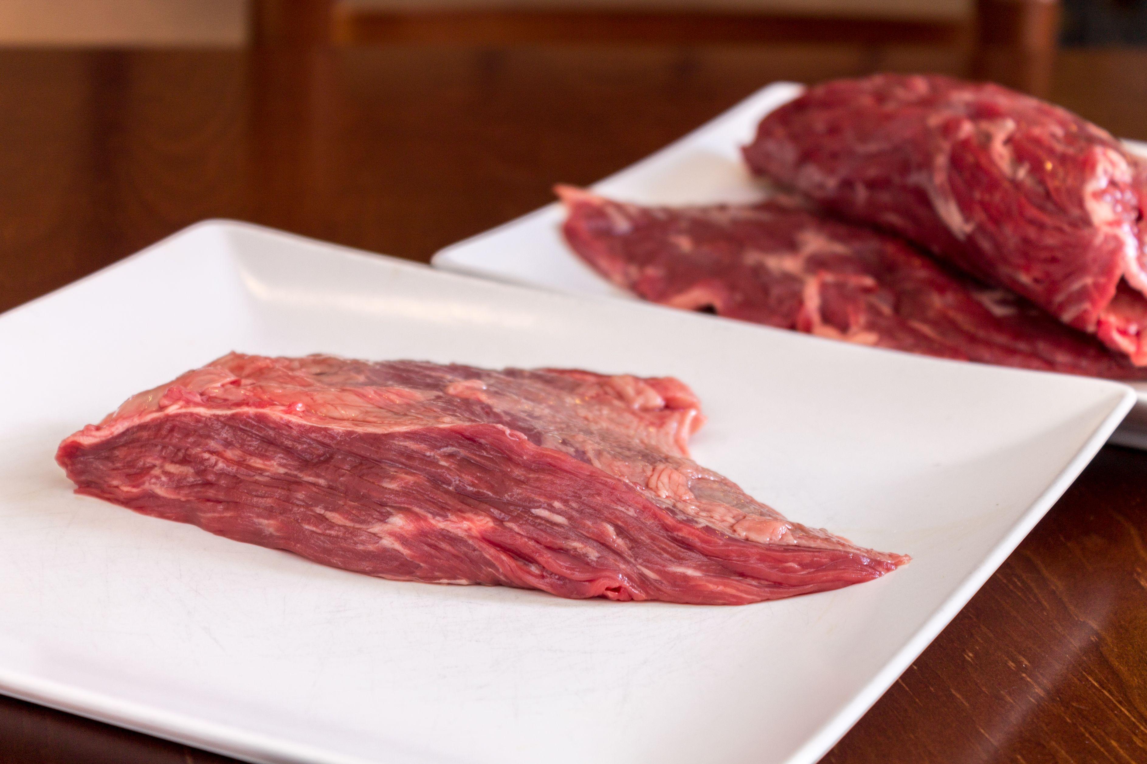 Pieza de carne fresca del Restaurante Ocho