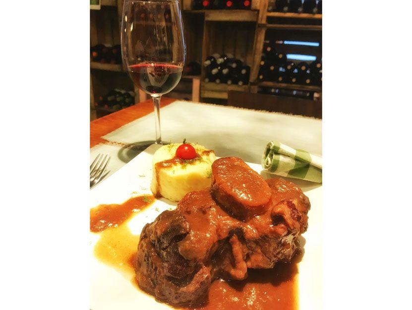 Osobuco en nuestro restaurante argentino en Málaga