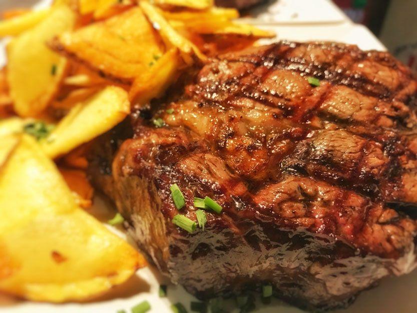 Ojo de bife en nuestro restaurante argentino en Málaga