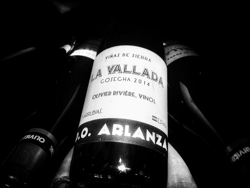 Vino La Vallada en nuestro restaurante argentino en Málaga