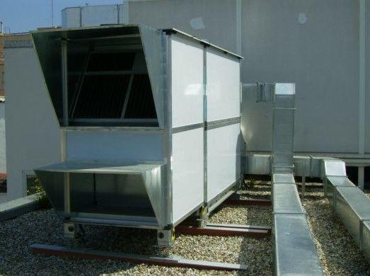 Mantenimiento de aire acondicionado industrial