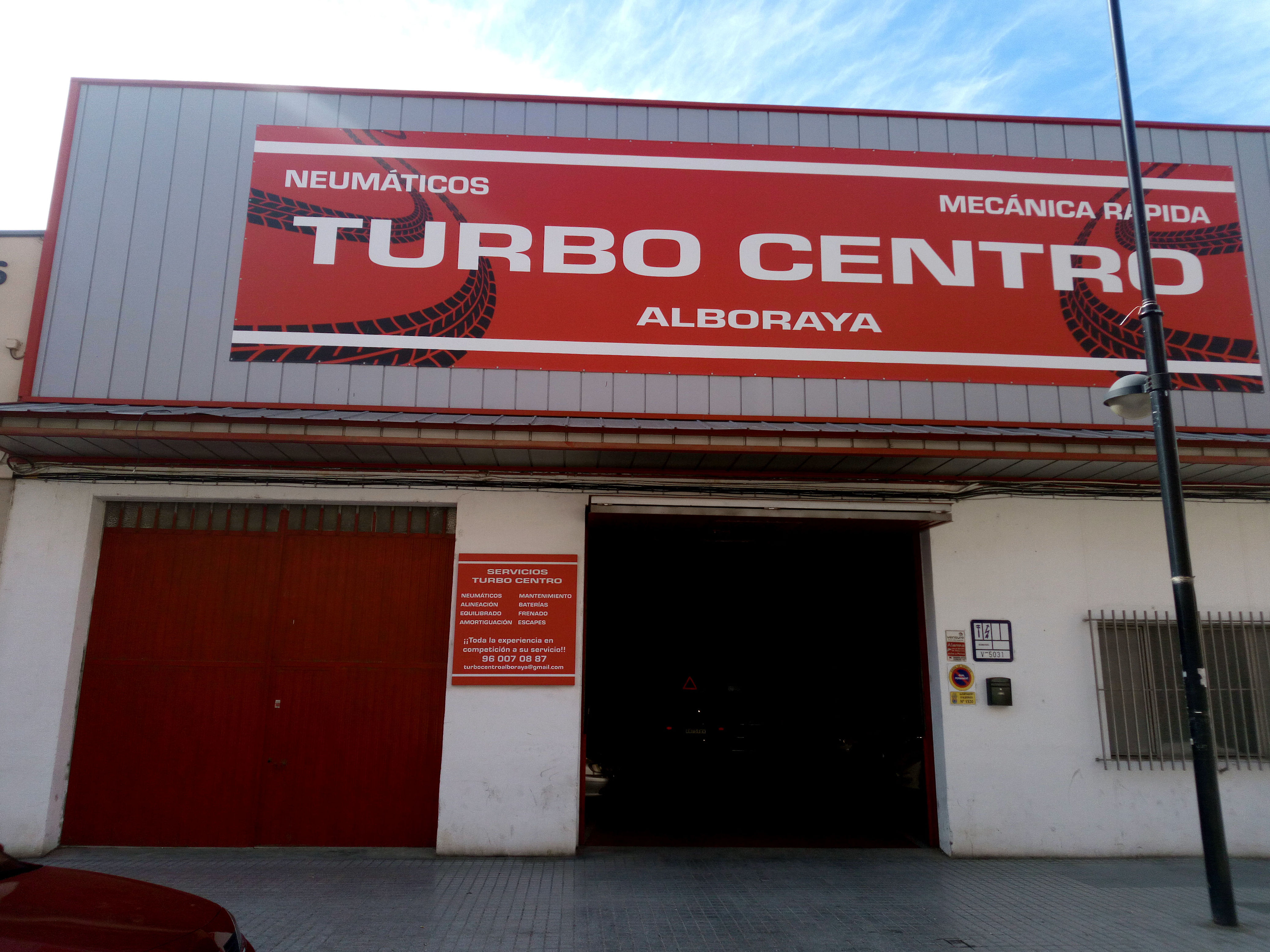 Taller mecánico en Alboraya