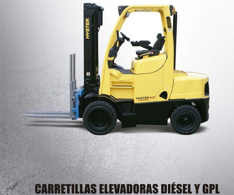 Carretillas elevadoras diésel y GPL: Productos y servicios  de Intzia Comercial