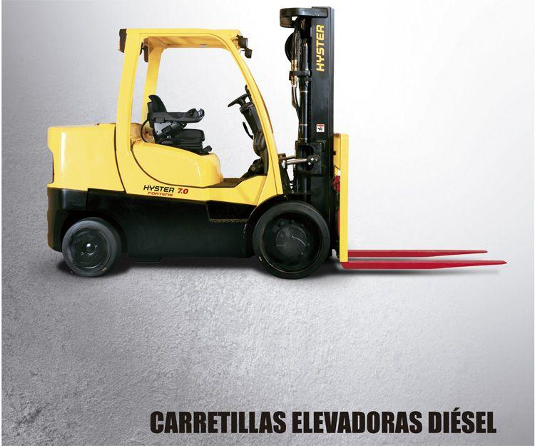 Carretillas elevadoras diésel: Productos y servicios  de Intzia Comercial