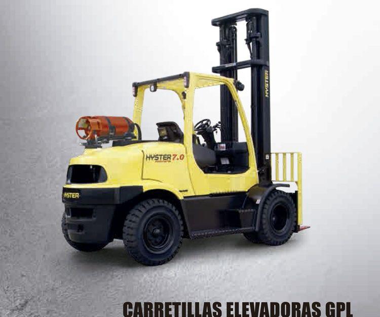 Carretillas elevadoras GPL: Productos y servicios  de Intzia Comercial