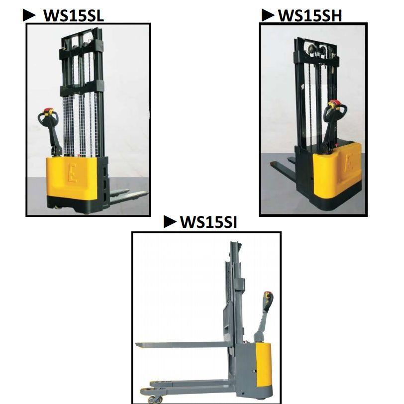 Apilador eléctrico 1.500 kg: Productos y servicios  de Intzia Comercial