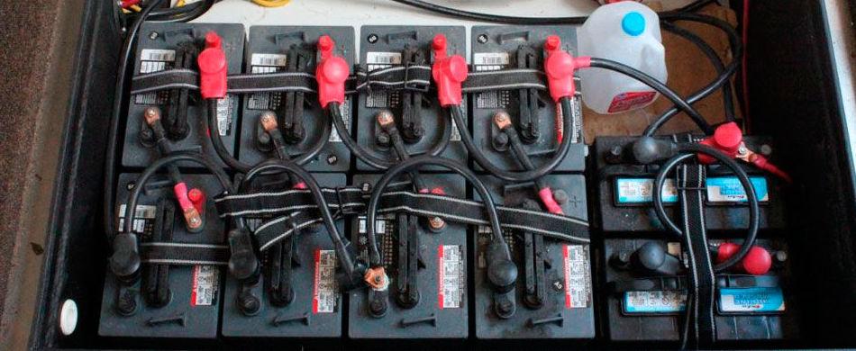 Baterías regeneradas Vizcaya