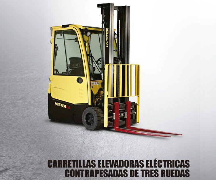 Carretillas elevadoras eléctricas contrapesadas de 3 ruedas: Productos y servicios  de Intzia Comercial