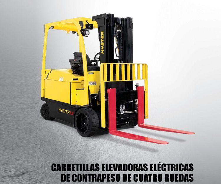 Carretillas elevadoras eléctricas contrapesadas de 4 ruedas: Productos y servicios  de Intzia Comercial