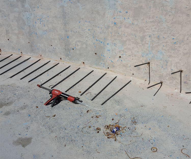 Trabajos de edificación en Mijas