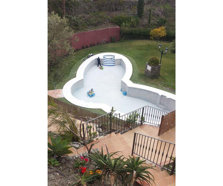 Trabajos para la construcción de piscinas