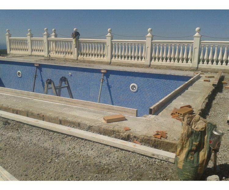 Construcción de piscinas a medida