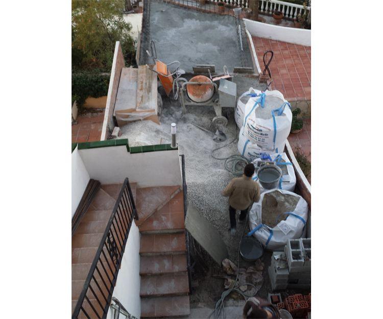 Trabajos de impermeabilización de terrazas