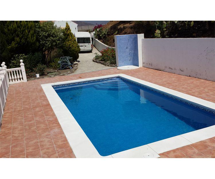 Trabajos de construcción de piscinas
