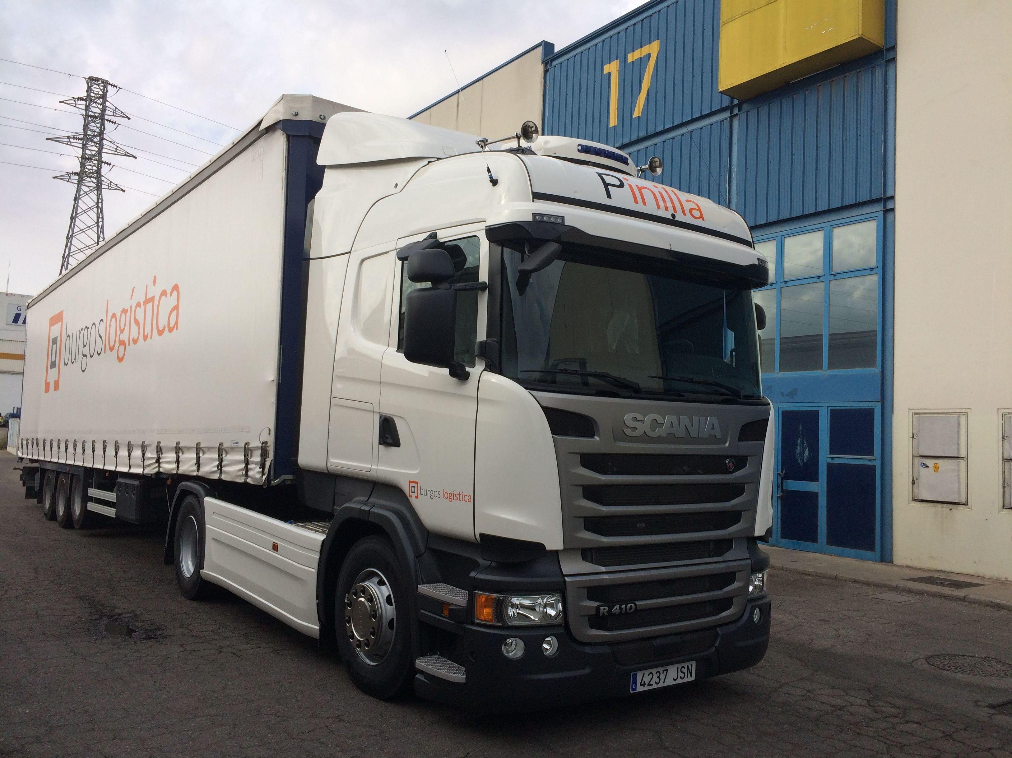 Transportes de mercancías: Servicios de Burgos Logística S.L. - Transportes Pinilla
