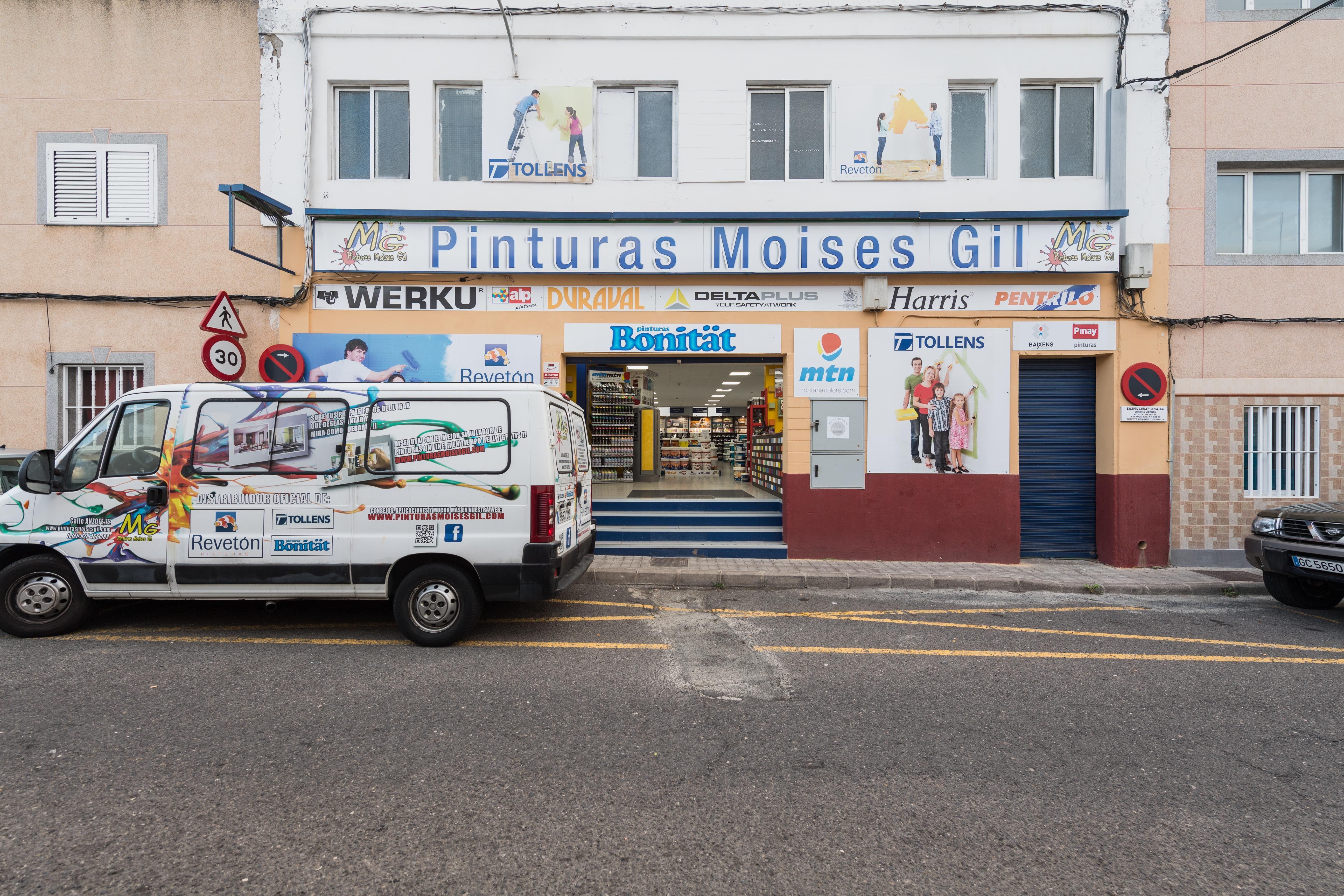 Pinturas de calidad para exteriores e interiores en Aruca