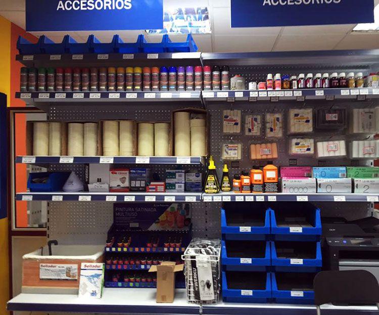 Materiales de pintura en Las Palmas de Gran Canaria