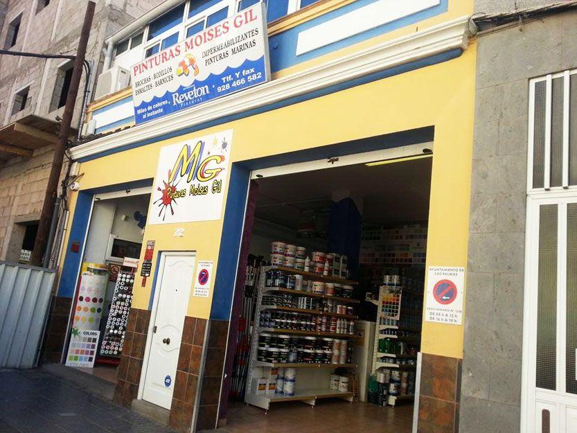 Tienda de pintura en Arucas