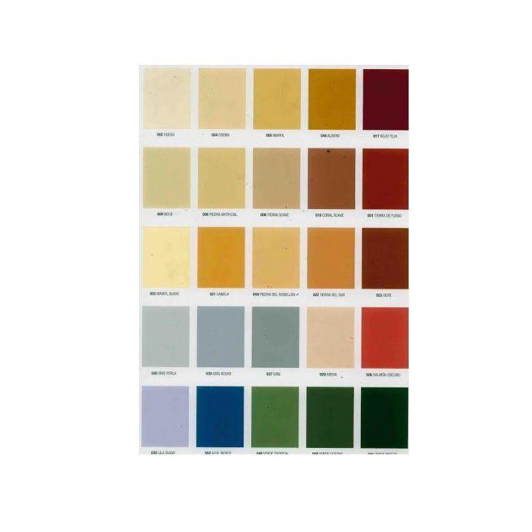 Cartas de colores: Servicios de Pinturas Moisés Gil