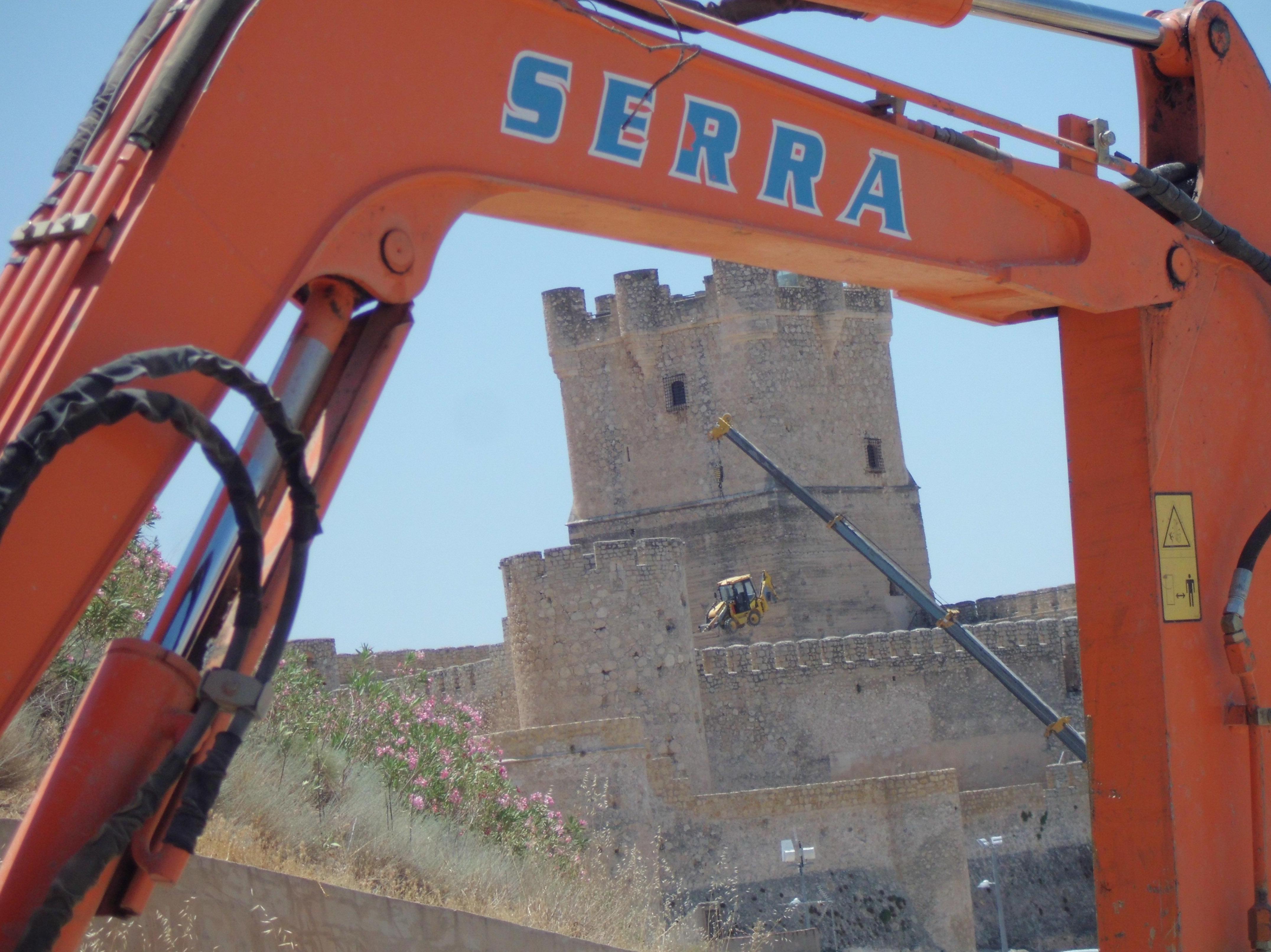 Excavaciones Serra en Villena