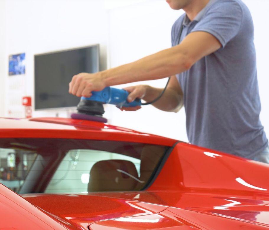 Politura de chapa: Servicios de Car Wash Alcorcón 1