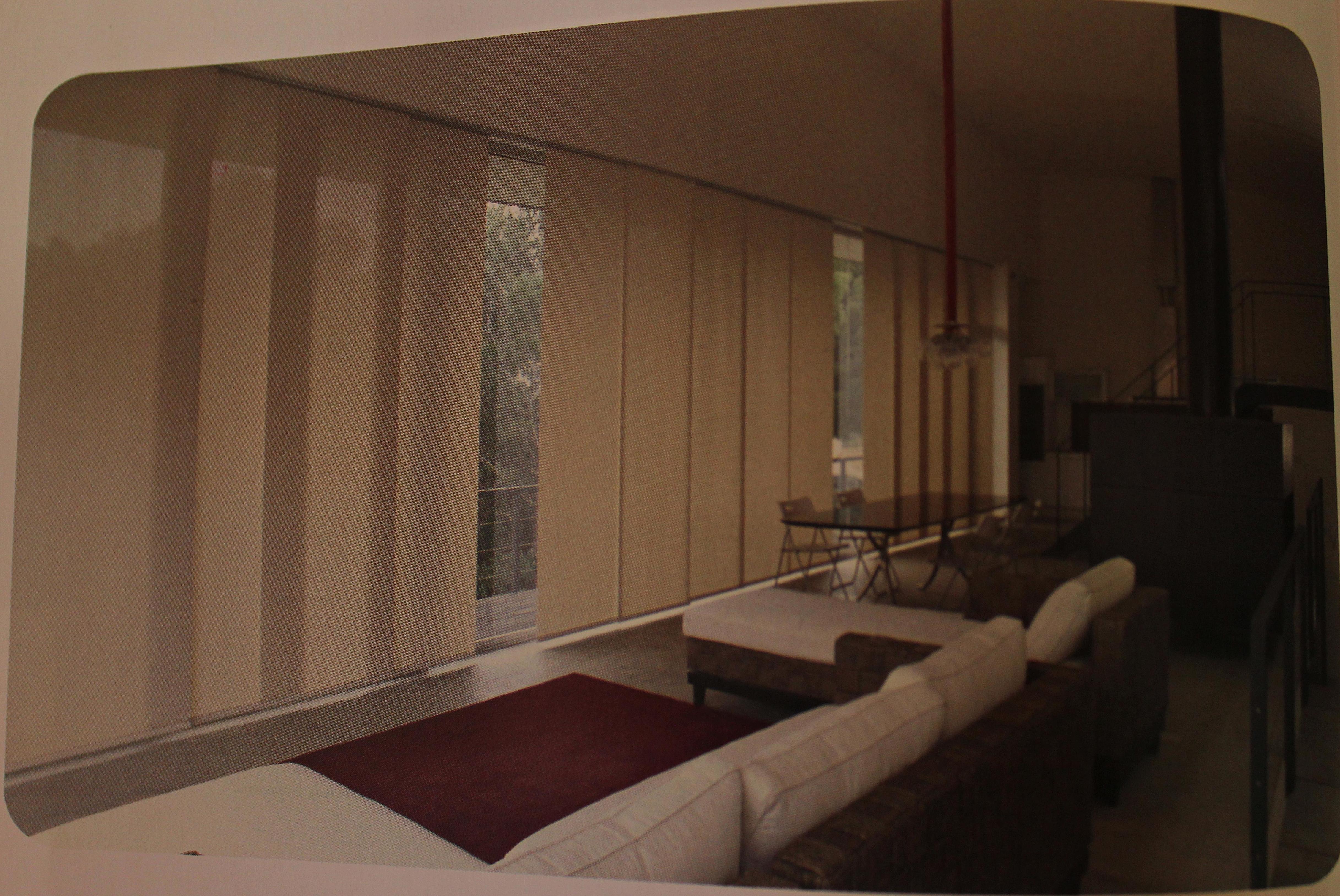 Paneles. Confección de cortinas Tres Cantos.